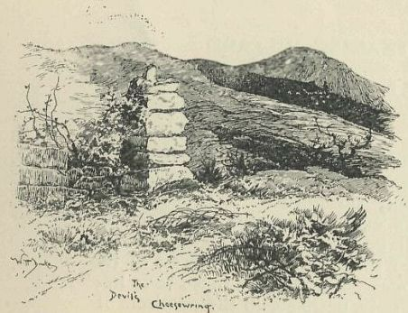 The Devil's Cheesewring, a strange rock formation in Cornwall; and a timeless symbol for England's past mistrust of cheese.